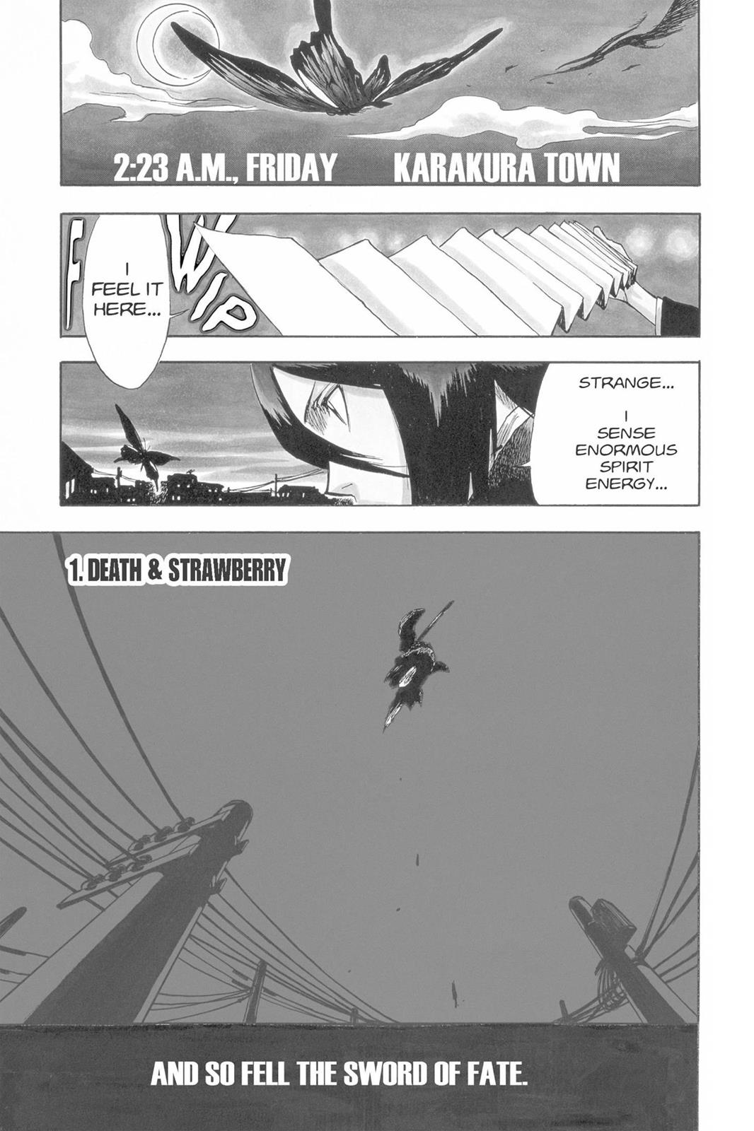 Bleach, Chapter 1 image 006