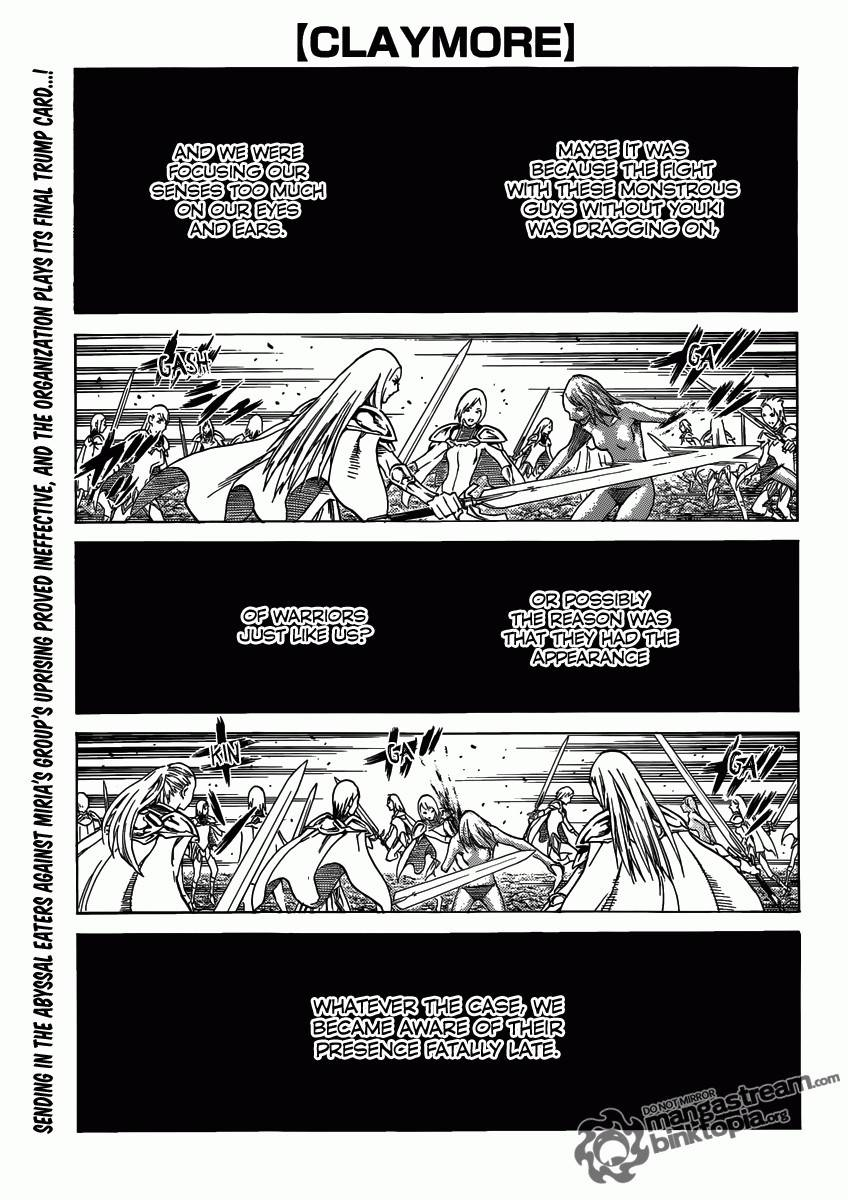 Claymore, Chapter 116 image 001