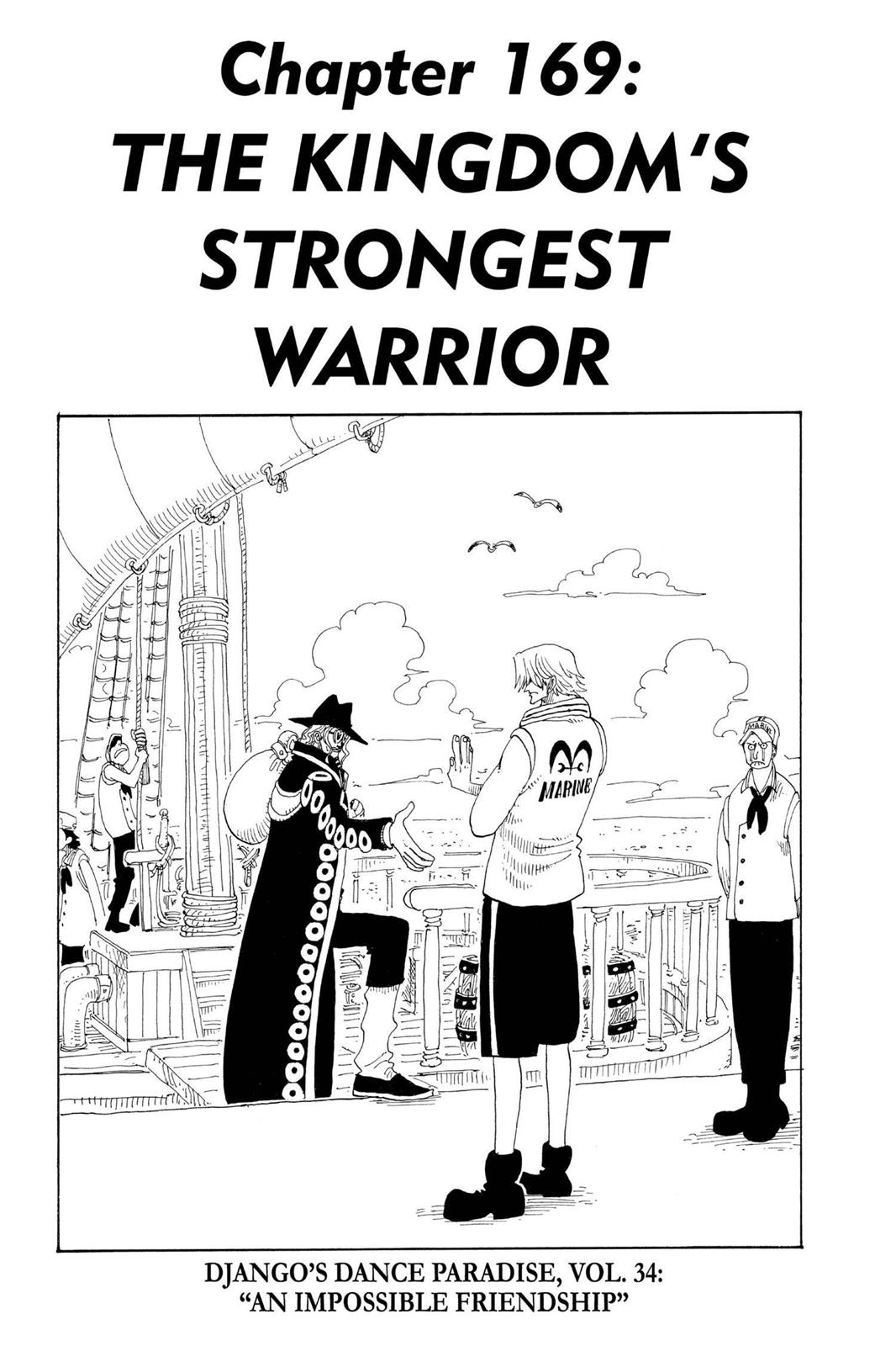 One Piece, Chapter 169 image 001