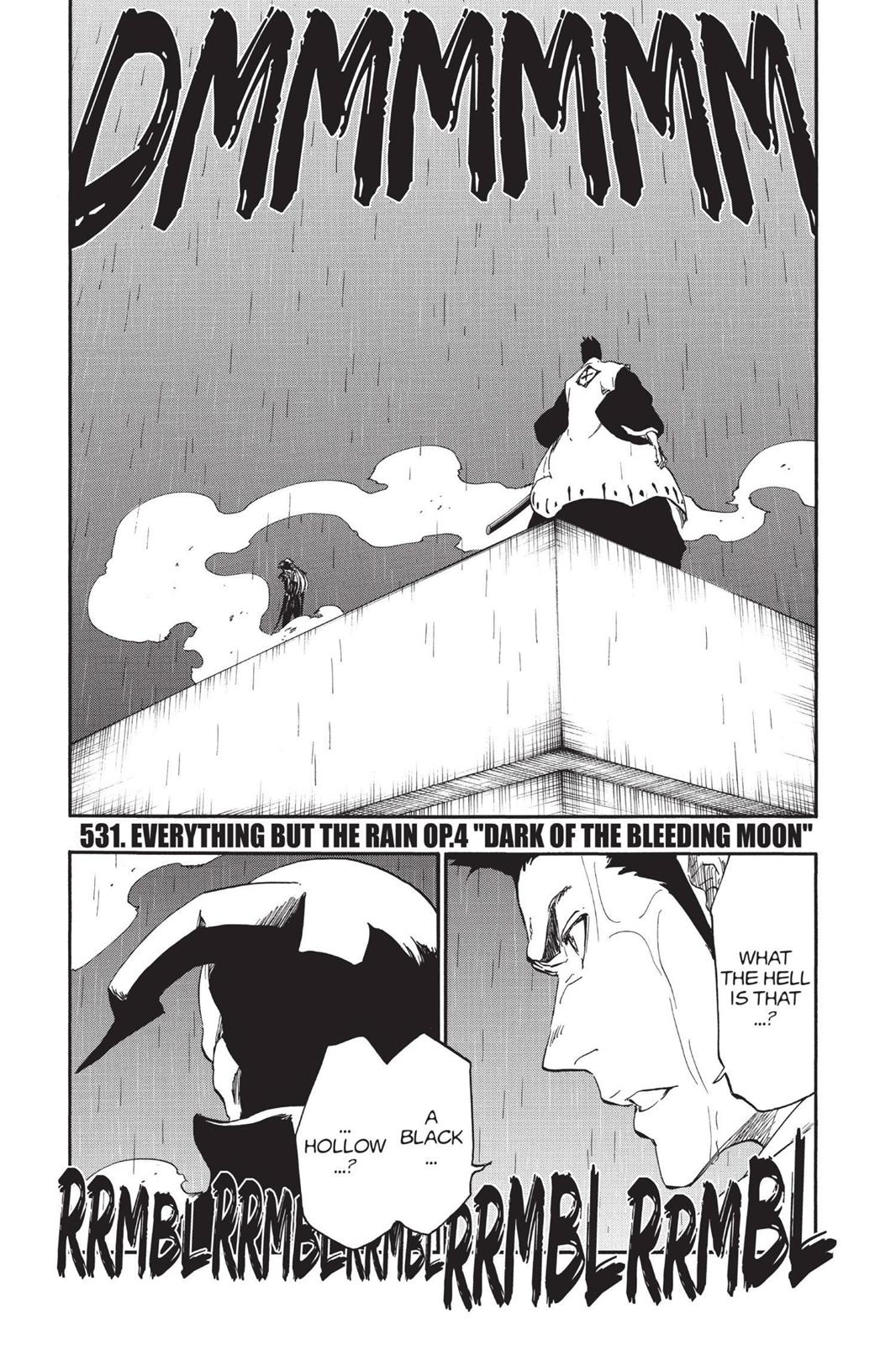Bleach, Chapter 531 image 007