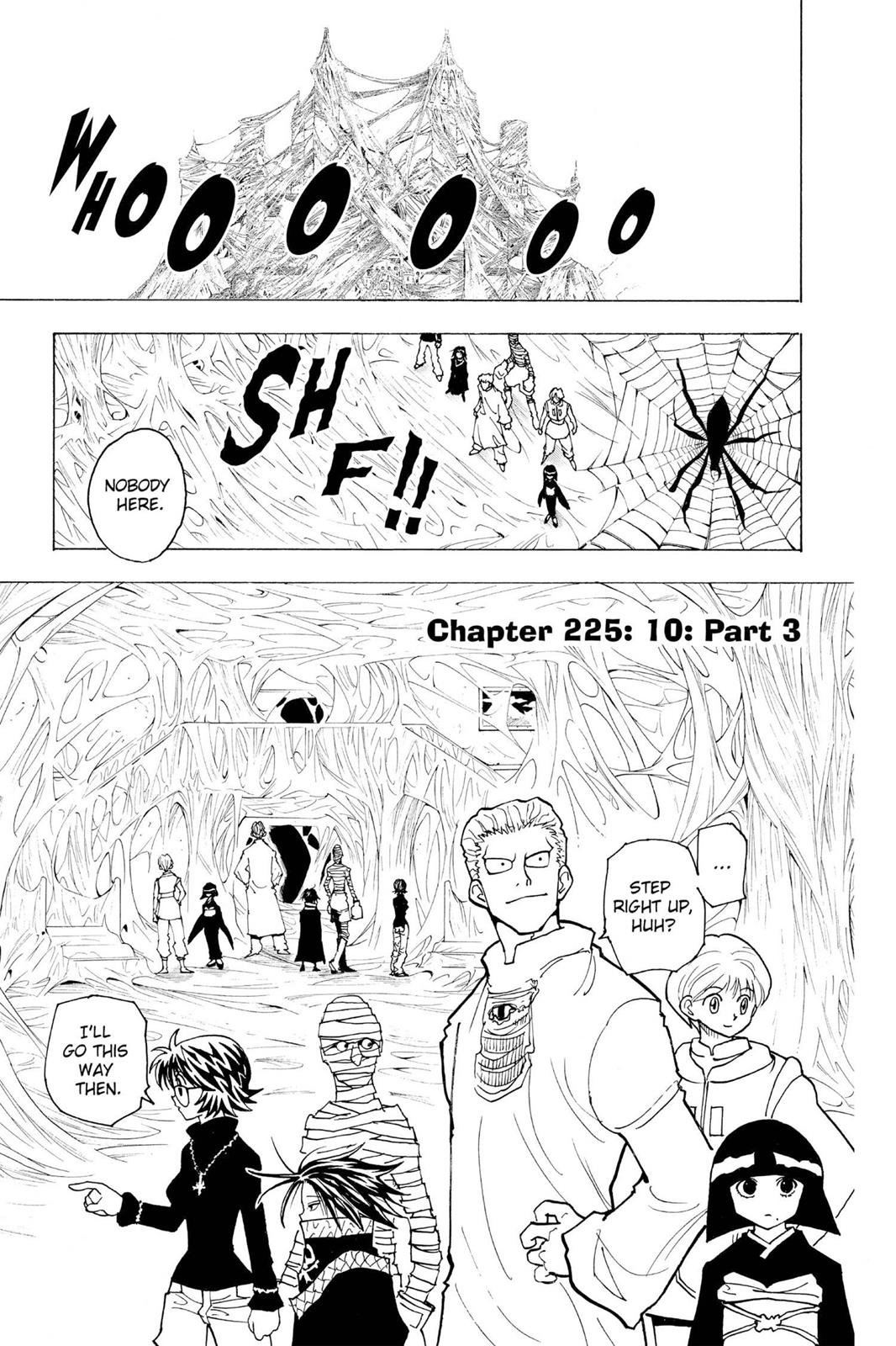 Hunter X Hunter, Chapter 225 image 001