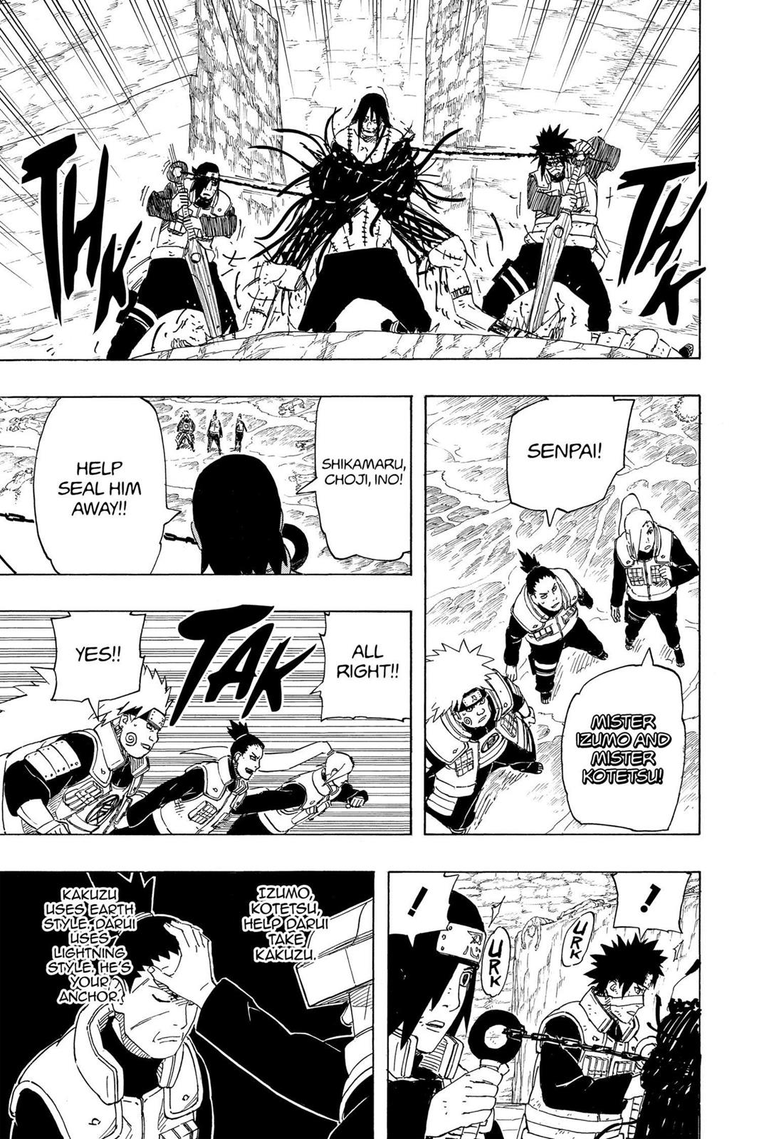 Naruto, Chapter 530 image 009
