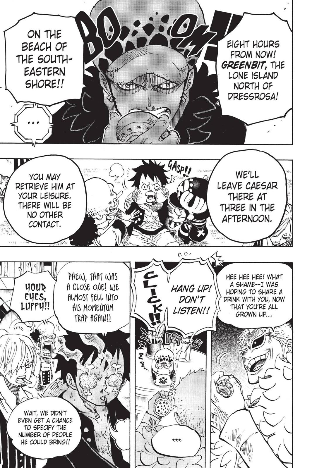 One Piece, Chapter 700 image 007