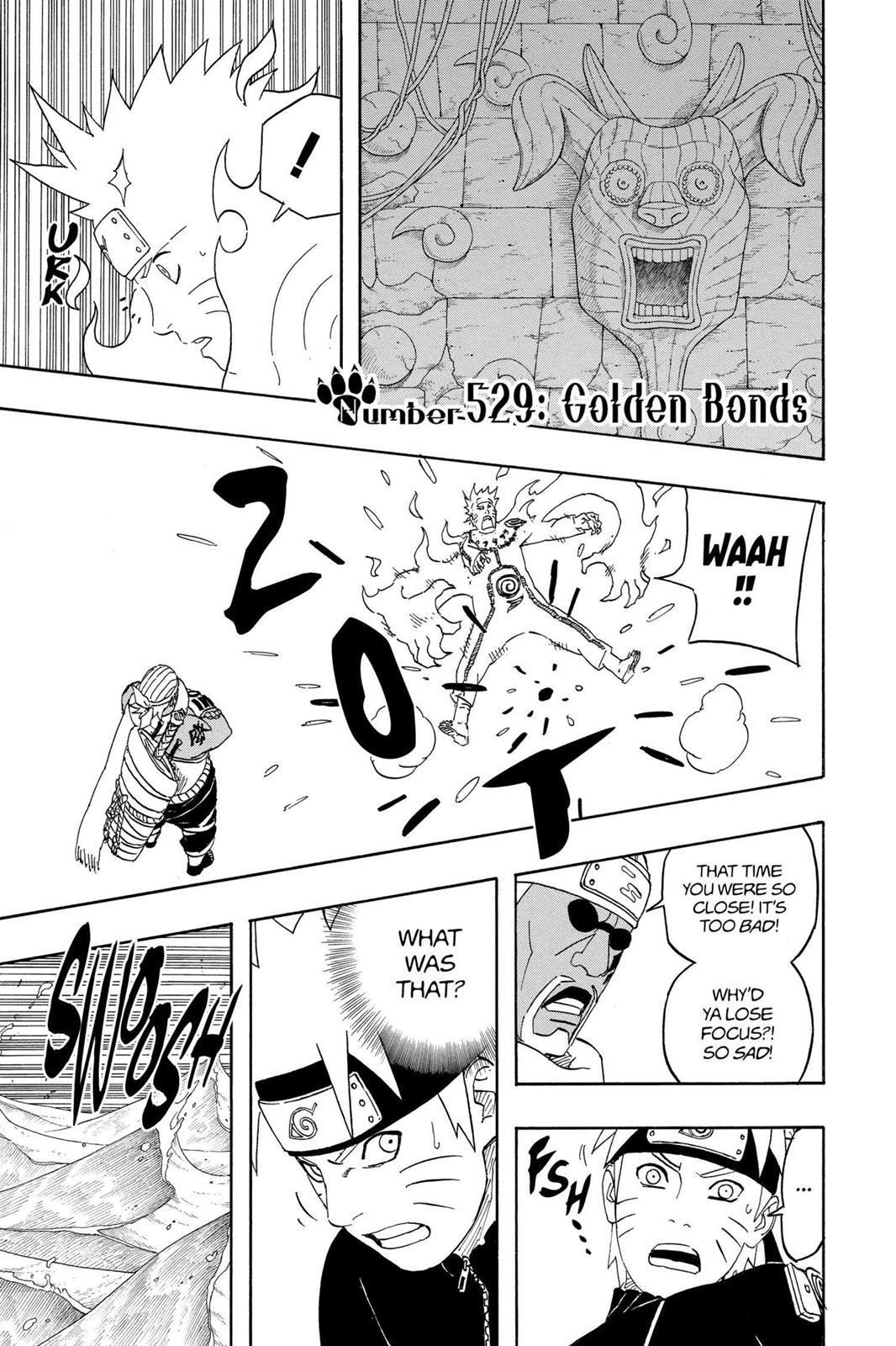 Naruto, Chapter 529 image 001