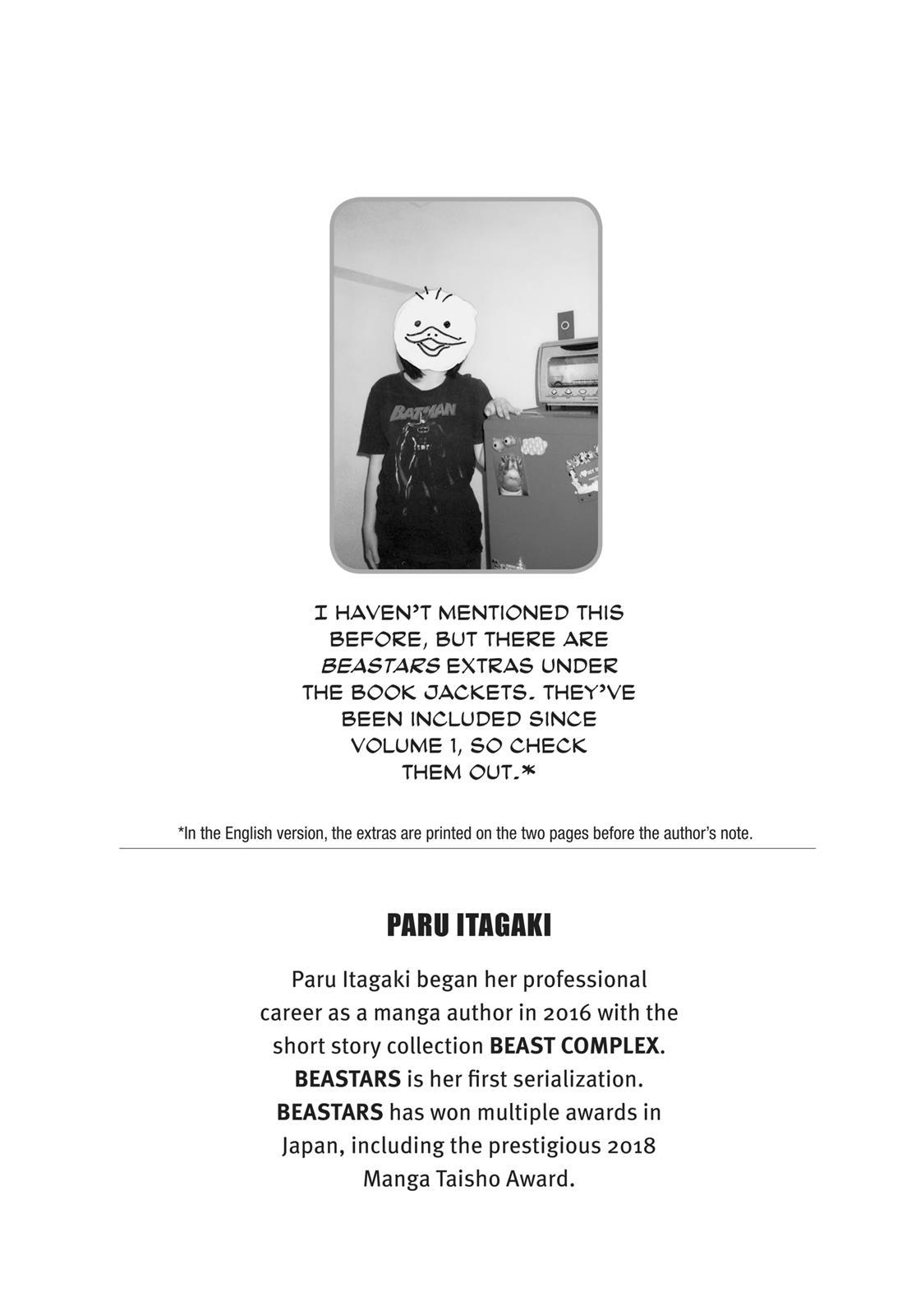Beastars Manga, Chapter 34 image 025