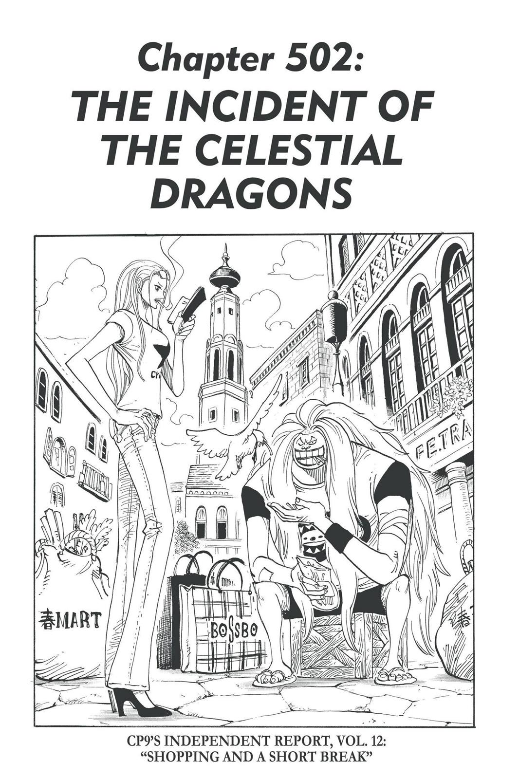 One Piece, Chapter 502 image 001