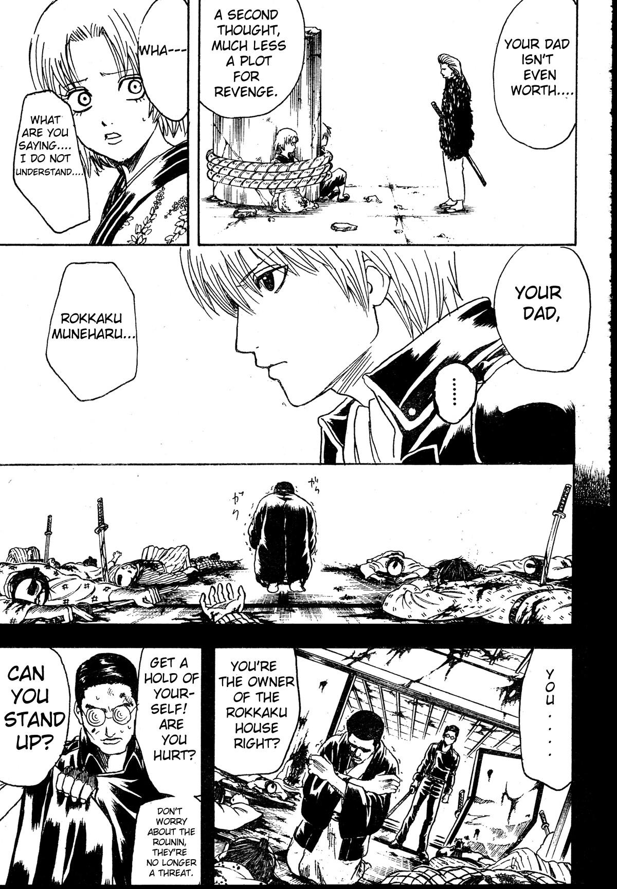 Gintama Chapter, 271 image 007