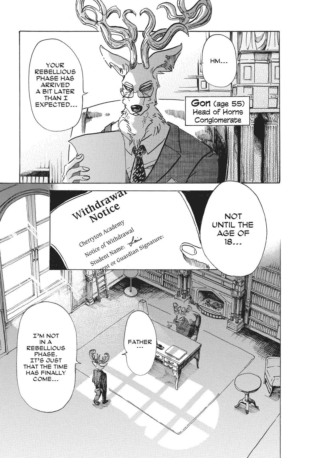 Beastars Manga, Chapter 65 image 003