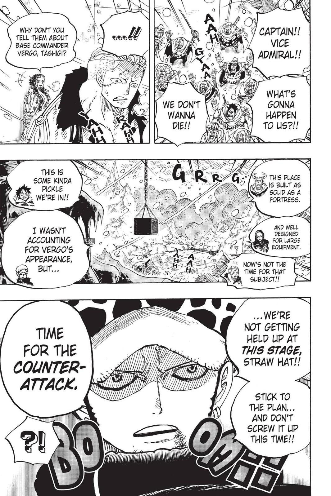 One Piece, Chapter 676 image 020
