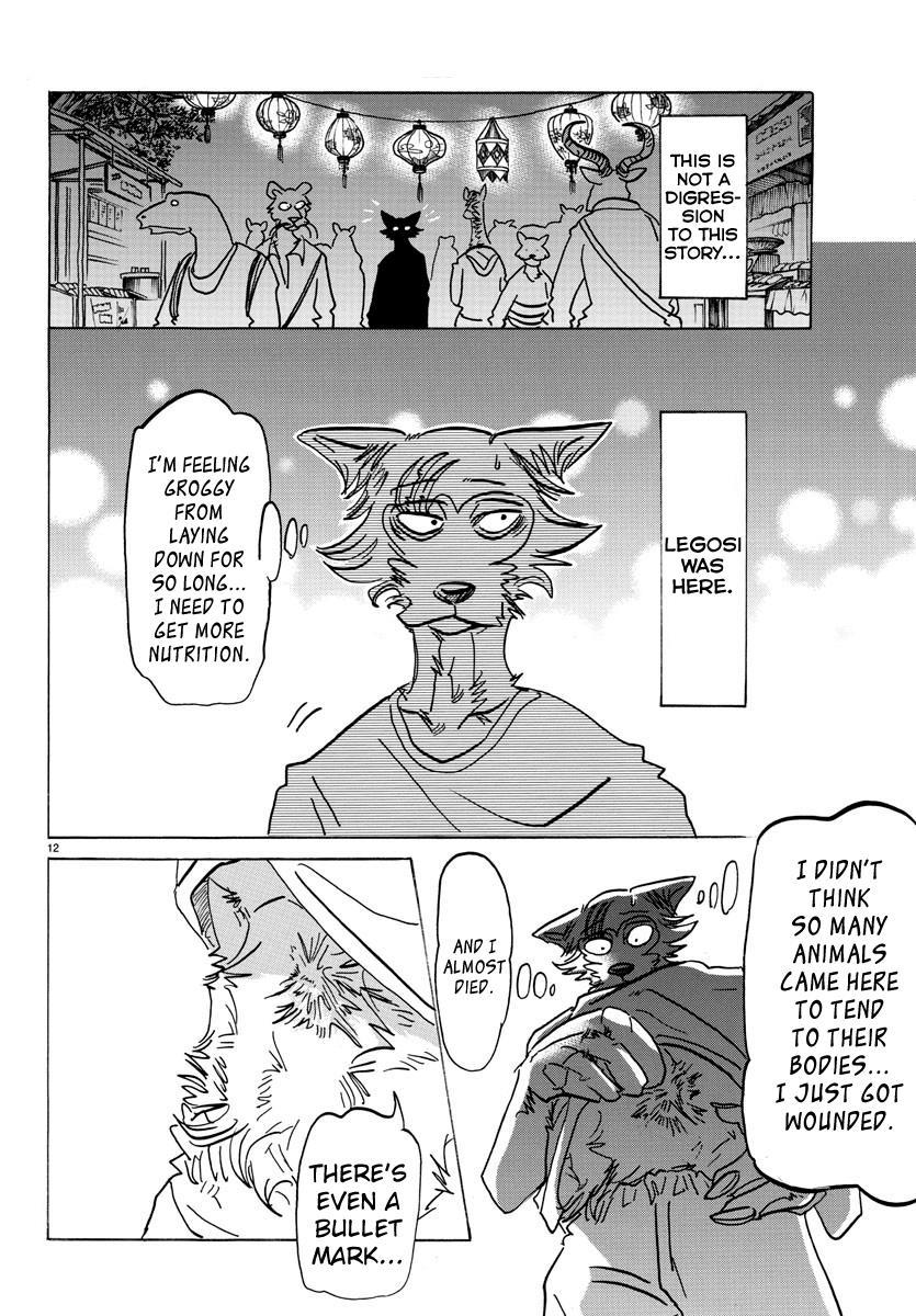 Beastars Manga, Chapter 135 image 011