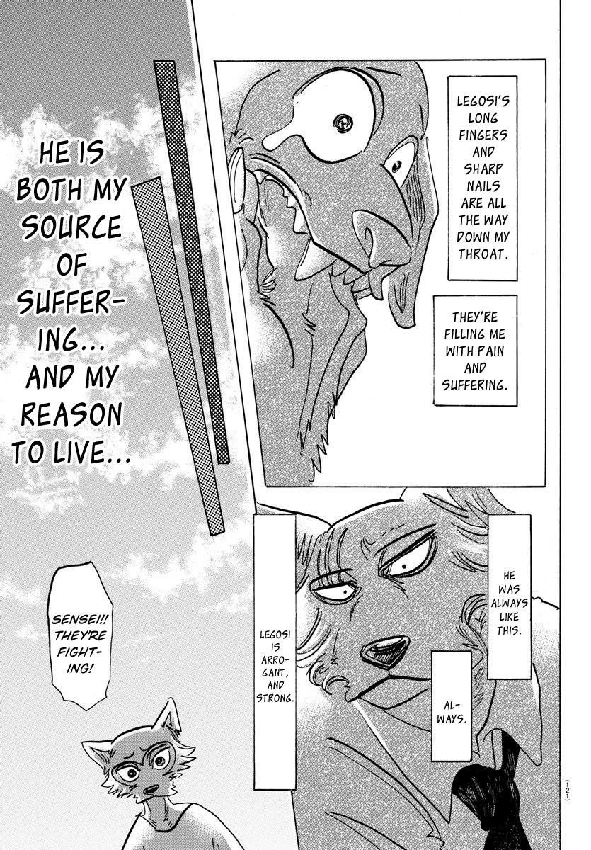 Beastars Manga, Chapter 153 image 016
