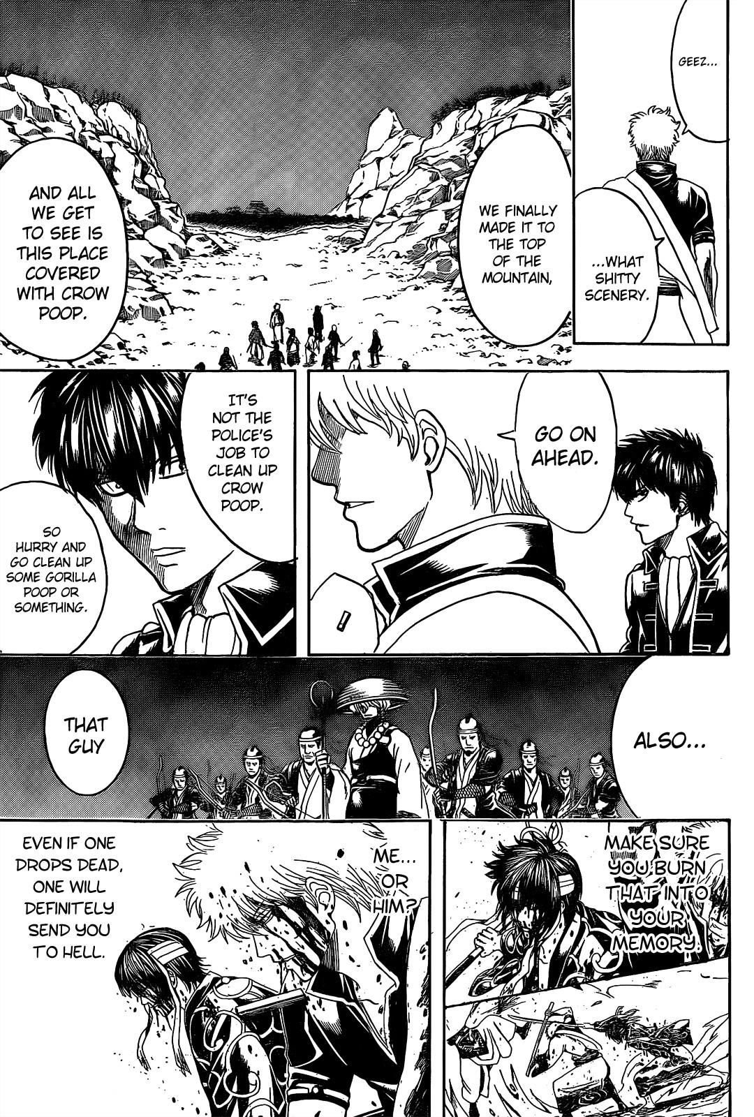 Gintama Chapter, 535 image 013