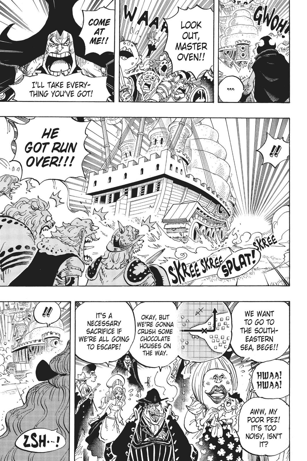 One Piece, Chapter 887 image 007