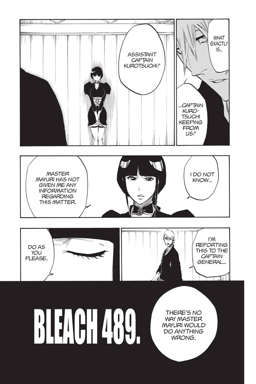 Bleach, Chapter 489 image 005