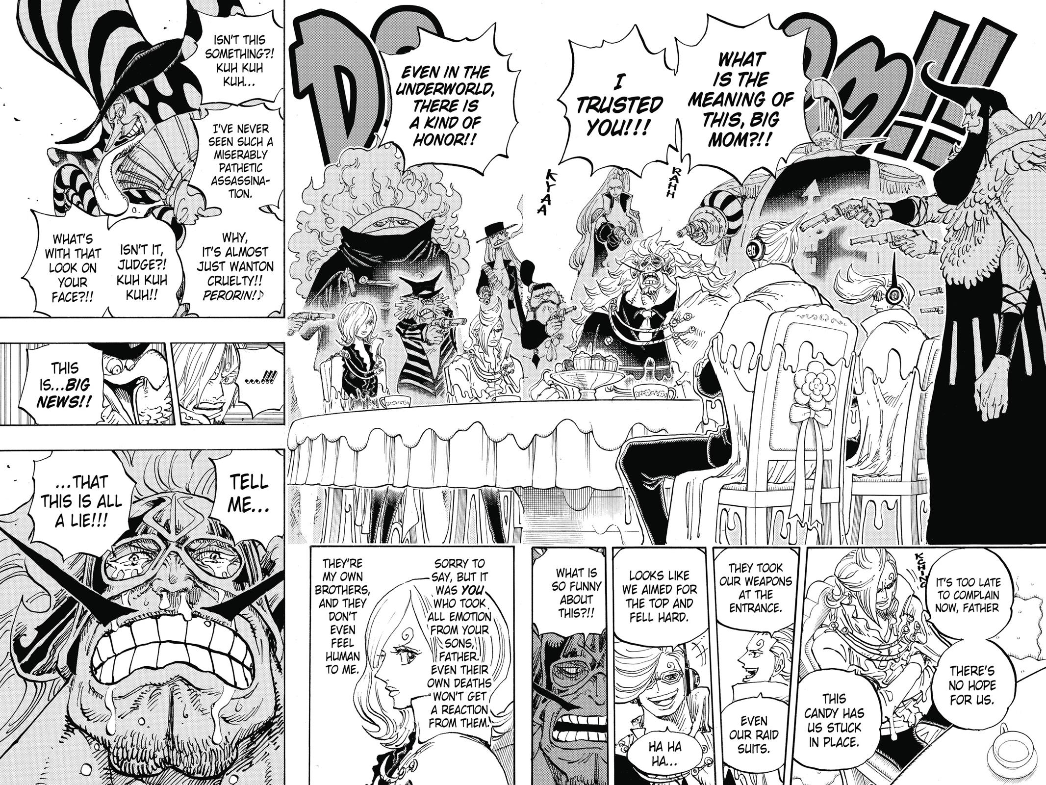 One Piece, Chapter 864 image 012