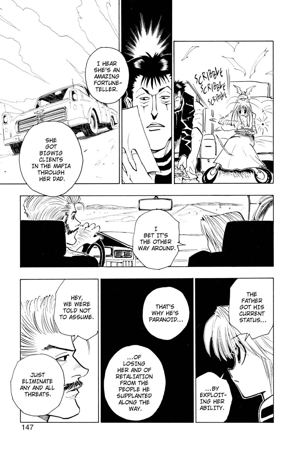 Hunter X Hunter, Chapter 71 image 012