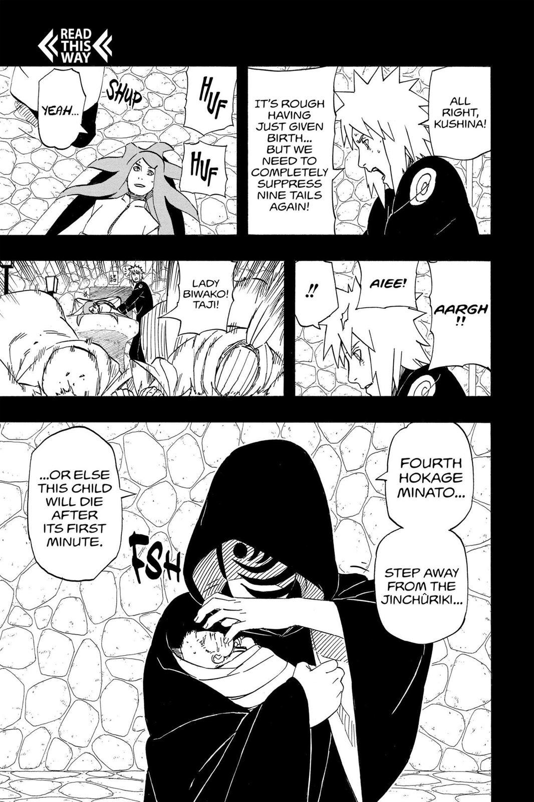 Naruto, Chapter 500 image 017