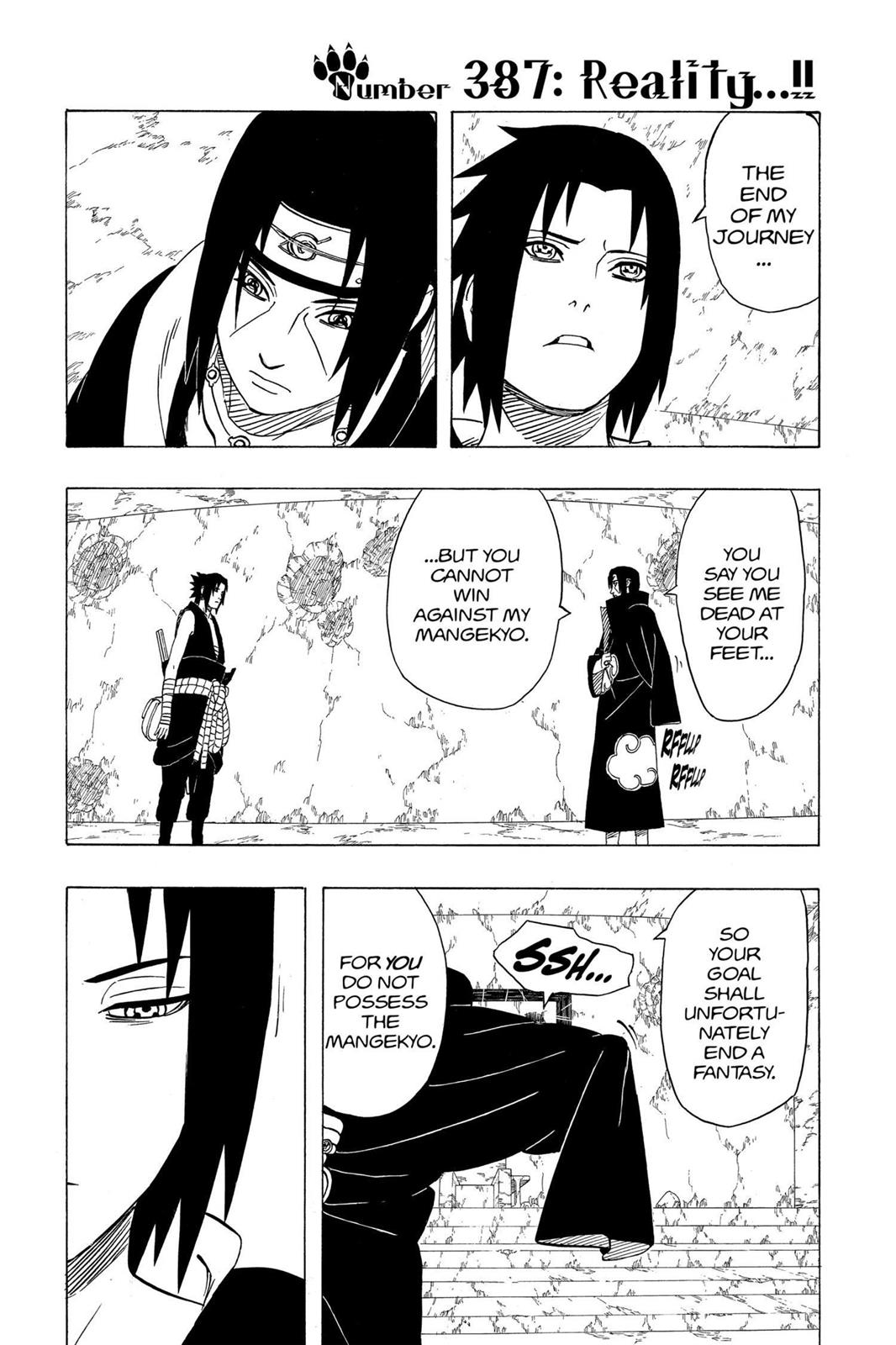 Naruto, Chapter 387 image 001