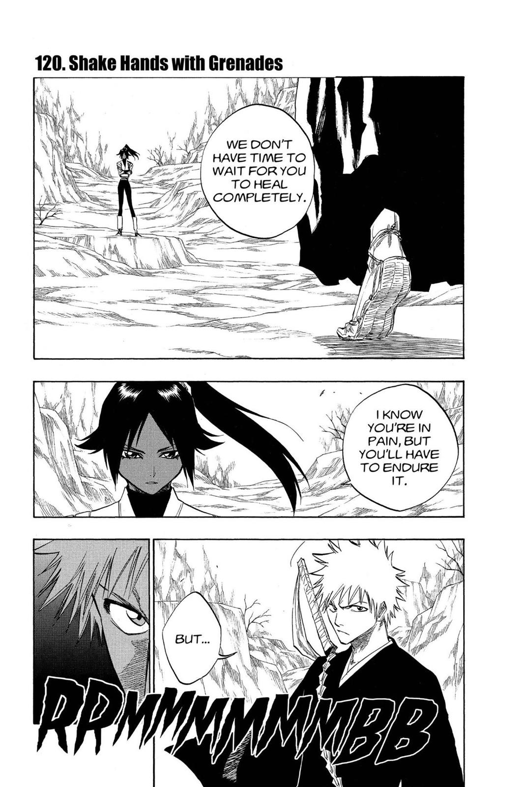 Bleach, Chapter 120 image 001