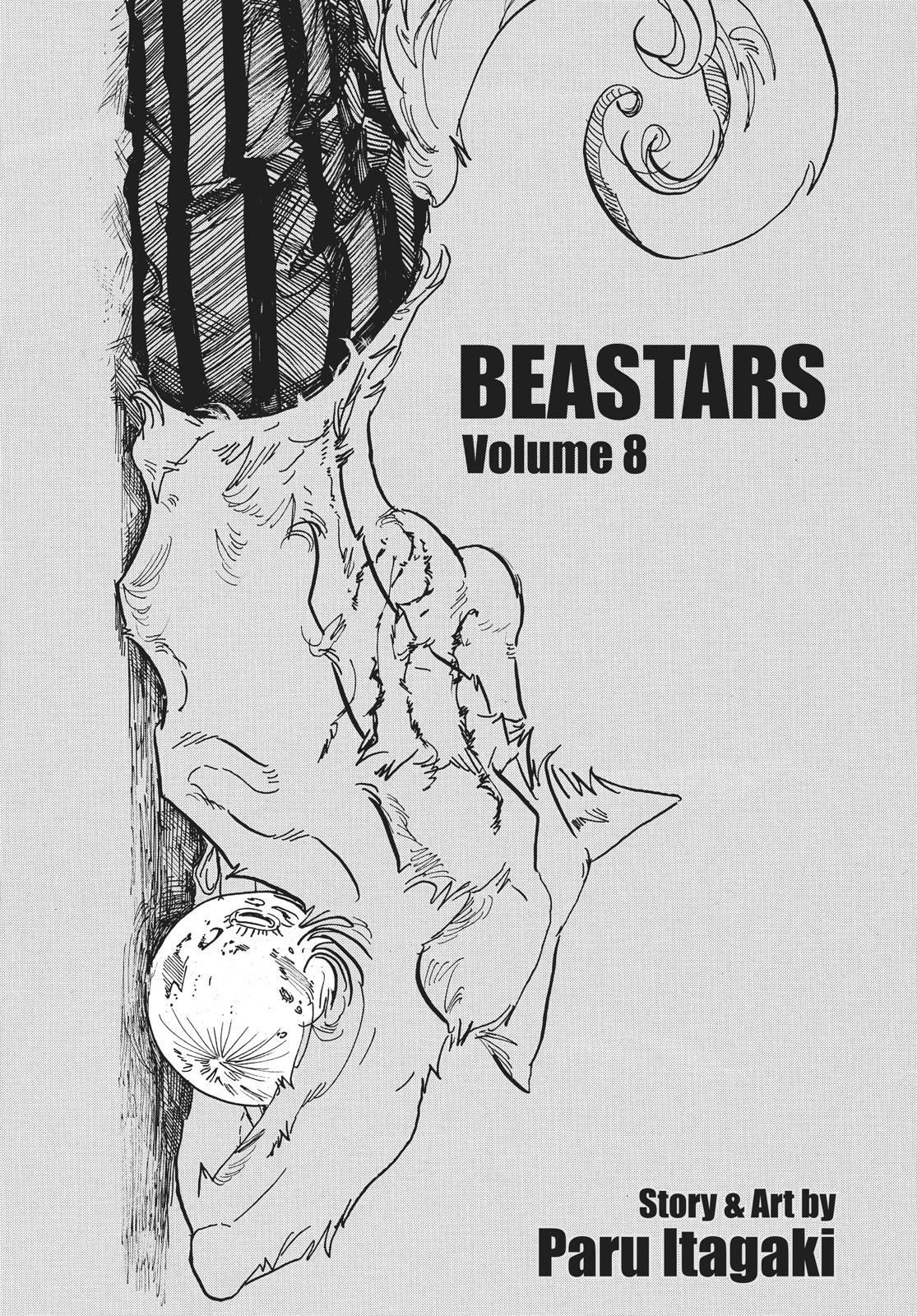 Beastars Manga, Chapter 62 image 002