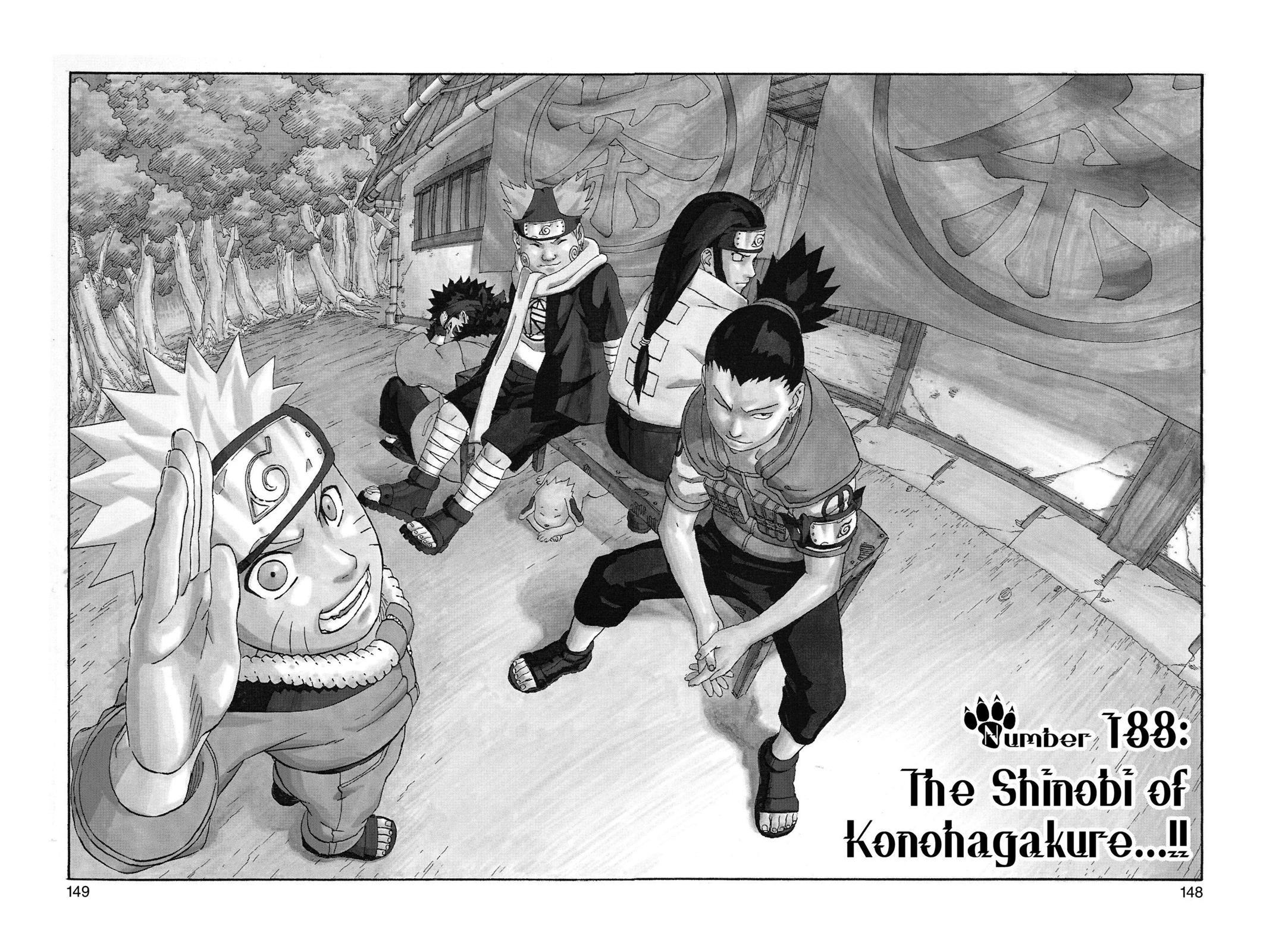Naruto, Chapter 188 image 002