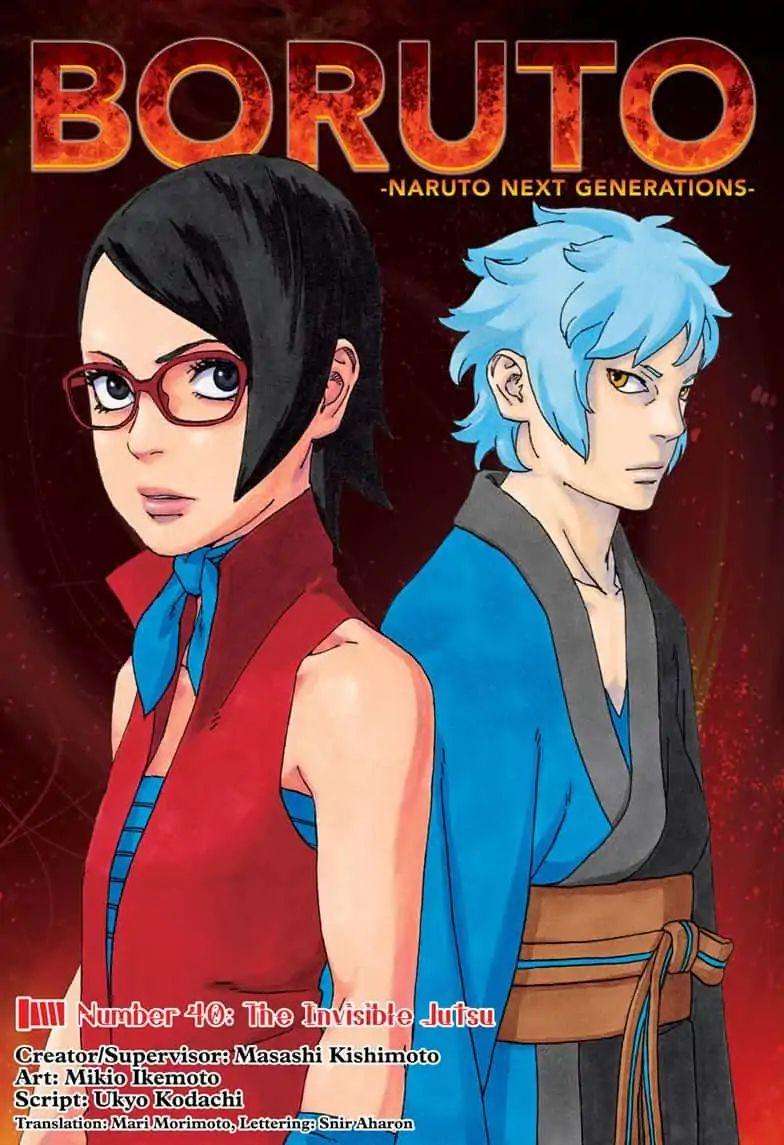 Boruto Manga, Chapter 40 image 001