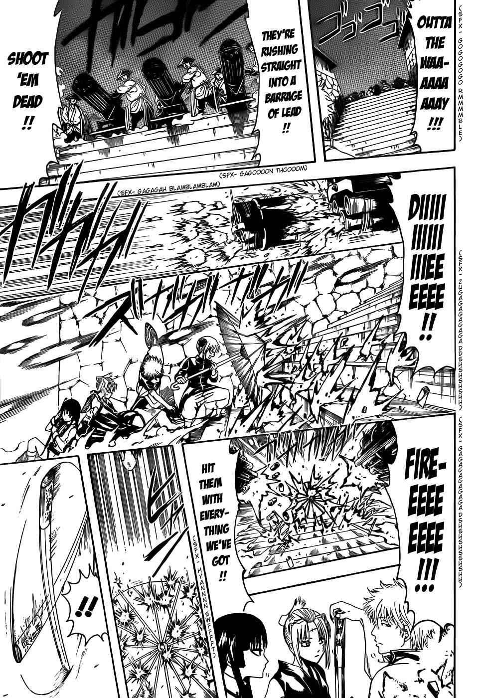 Gintama Chapter, 391 image 003