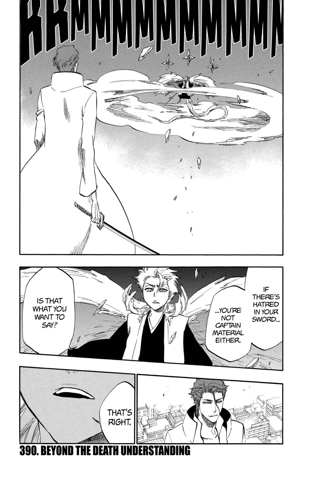 Bleach, Chapter 390 image 001