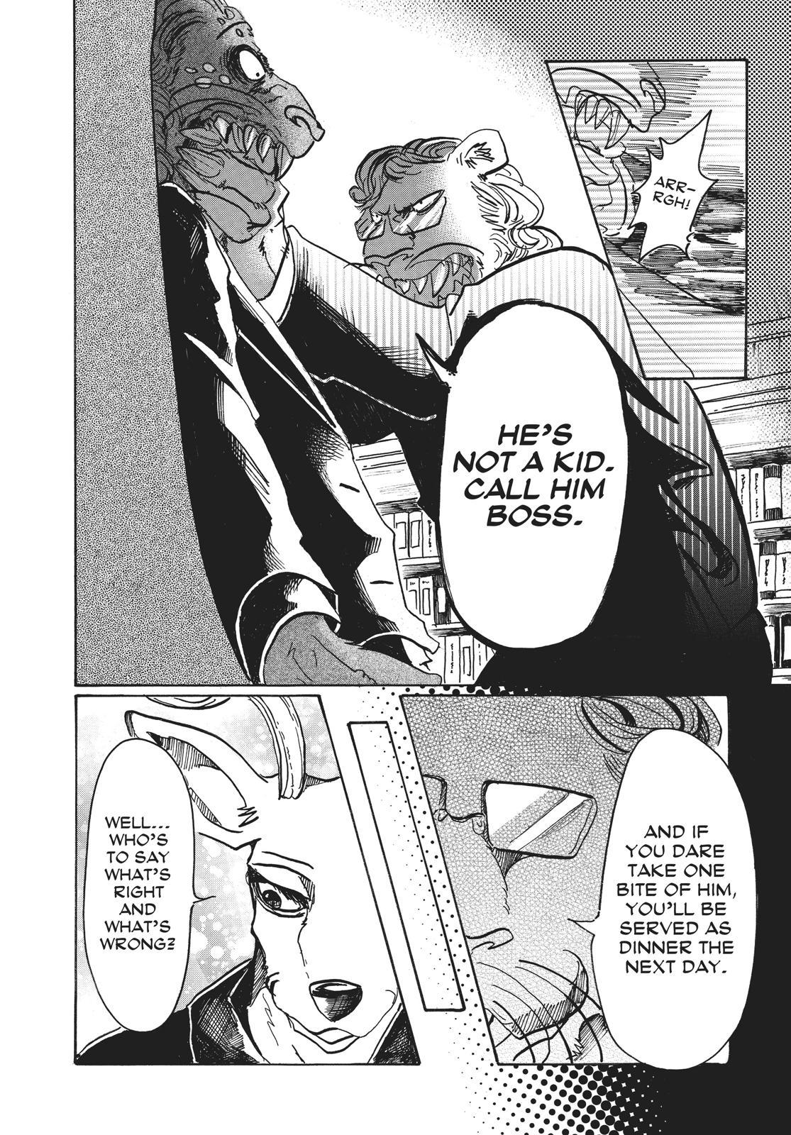 Beastars Manga, Chapter 57 image 013