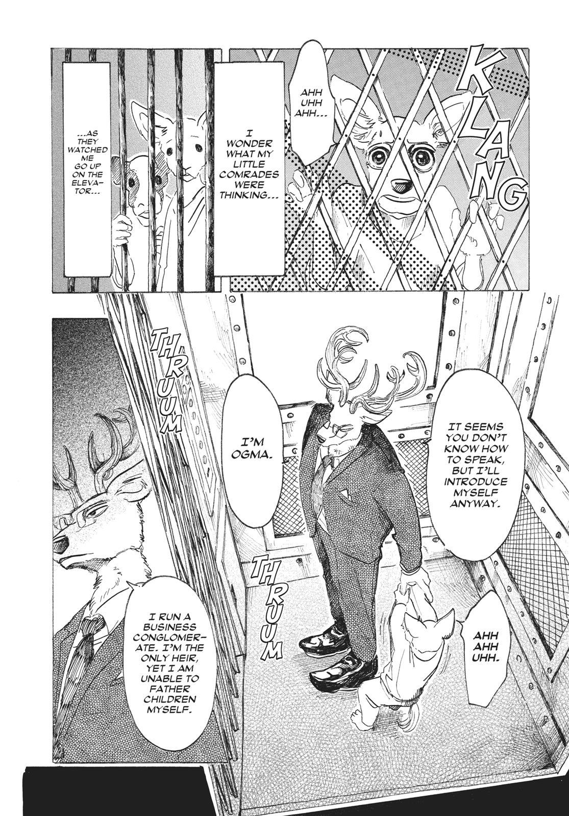Beastars Manga, Chapter 33 image 015