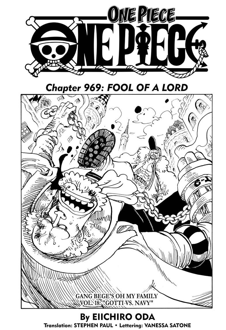 One Piece, Chapter 969 image 001