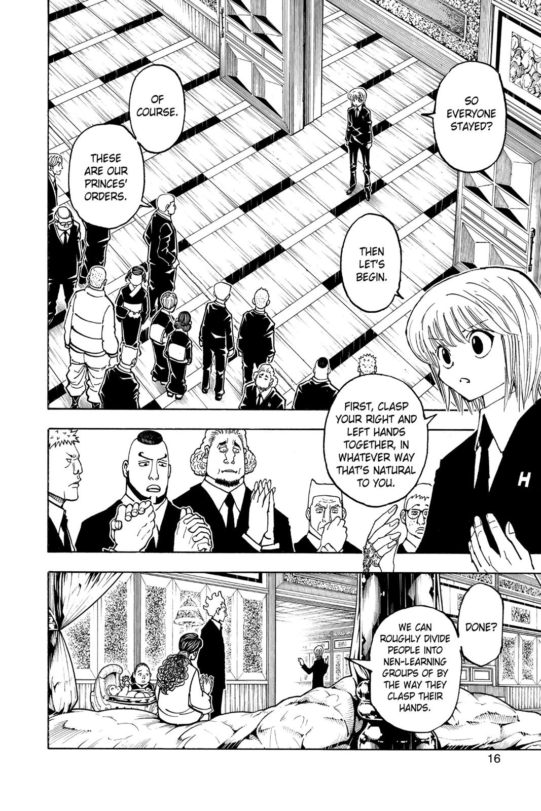 Hunter X Hunter, Chapter 371 image 016