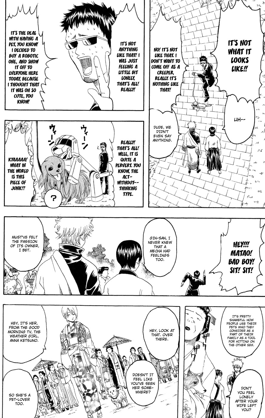 Gintama Chapter, 126 image 009