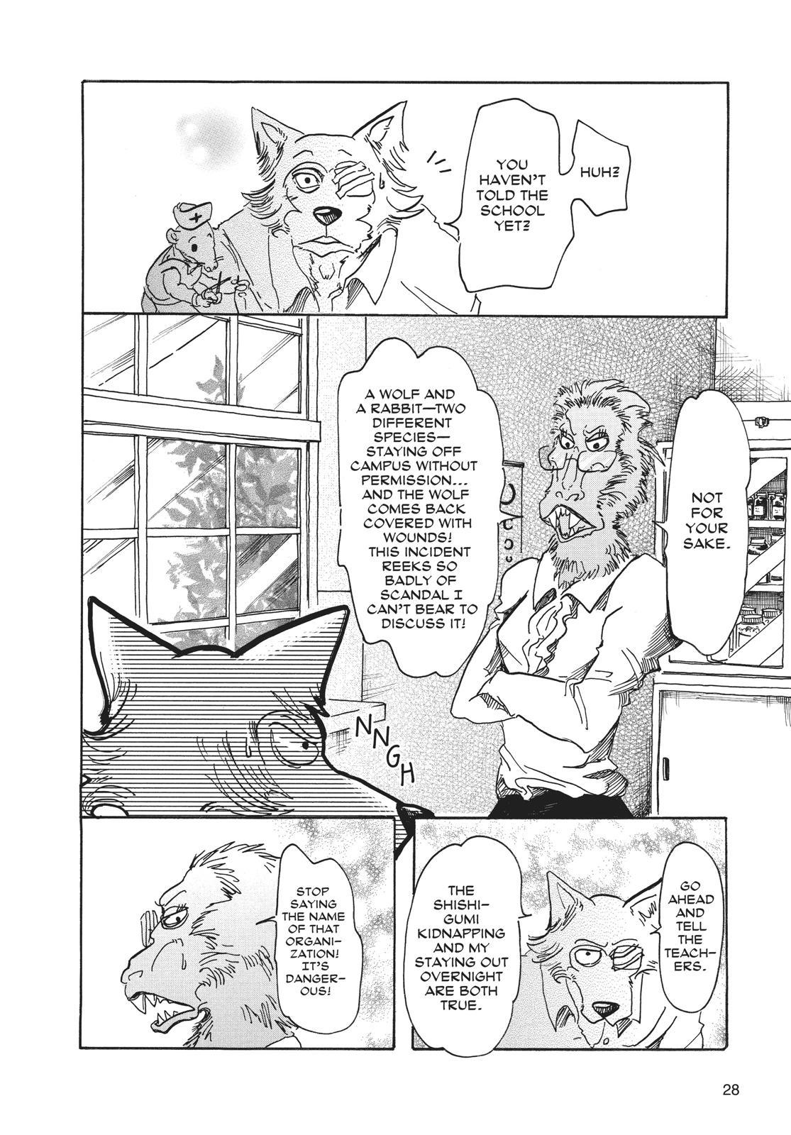 Beastars Manga, Chapter 45 image 002