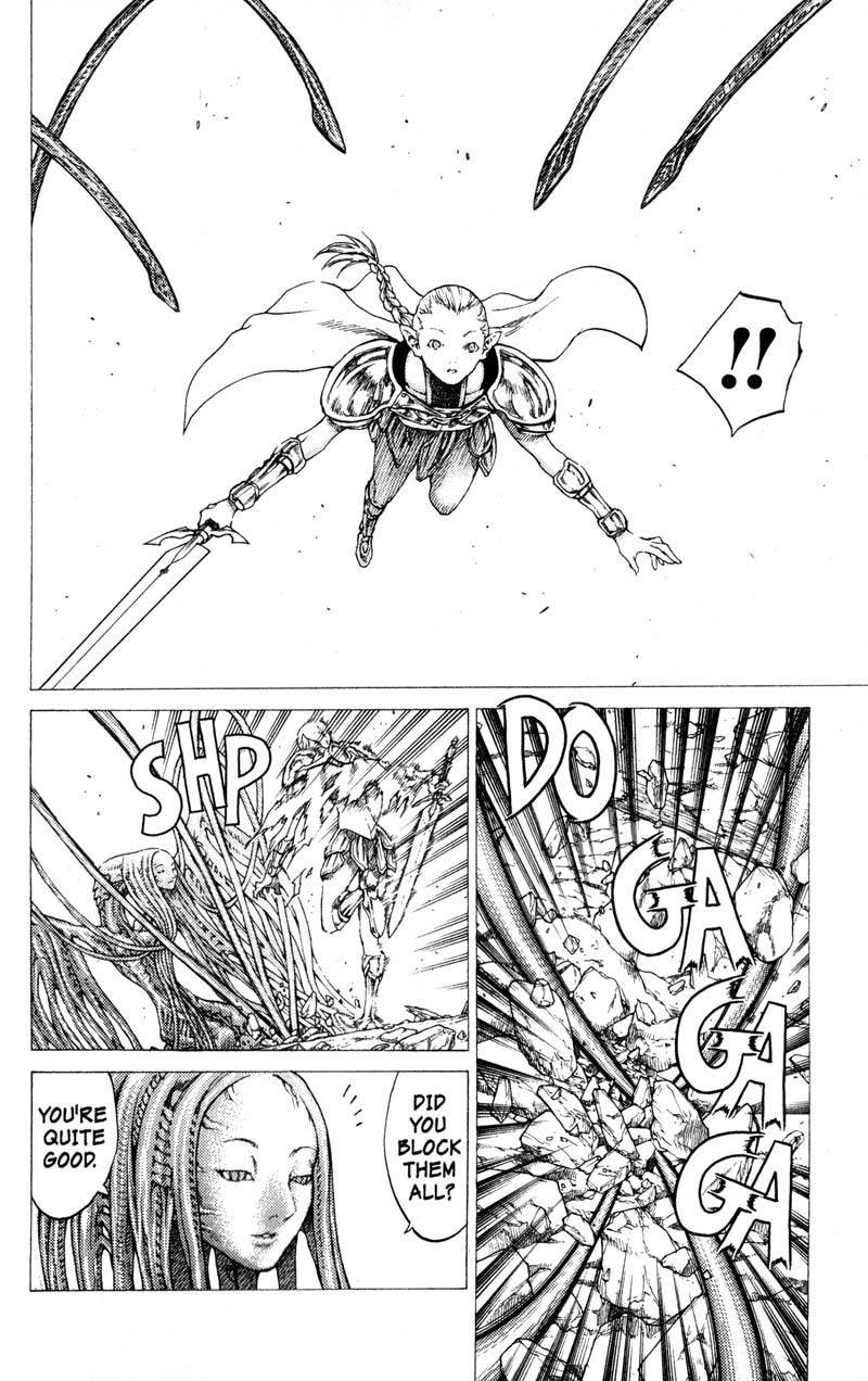 Claymore, Chapter 33 image 025