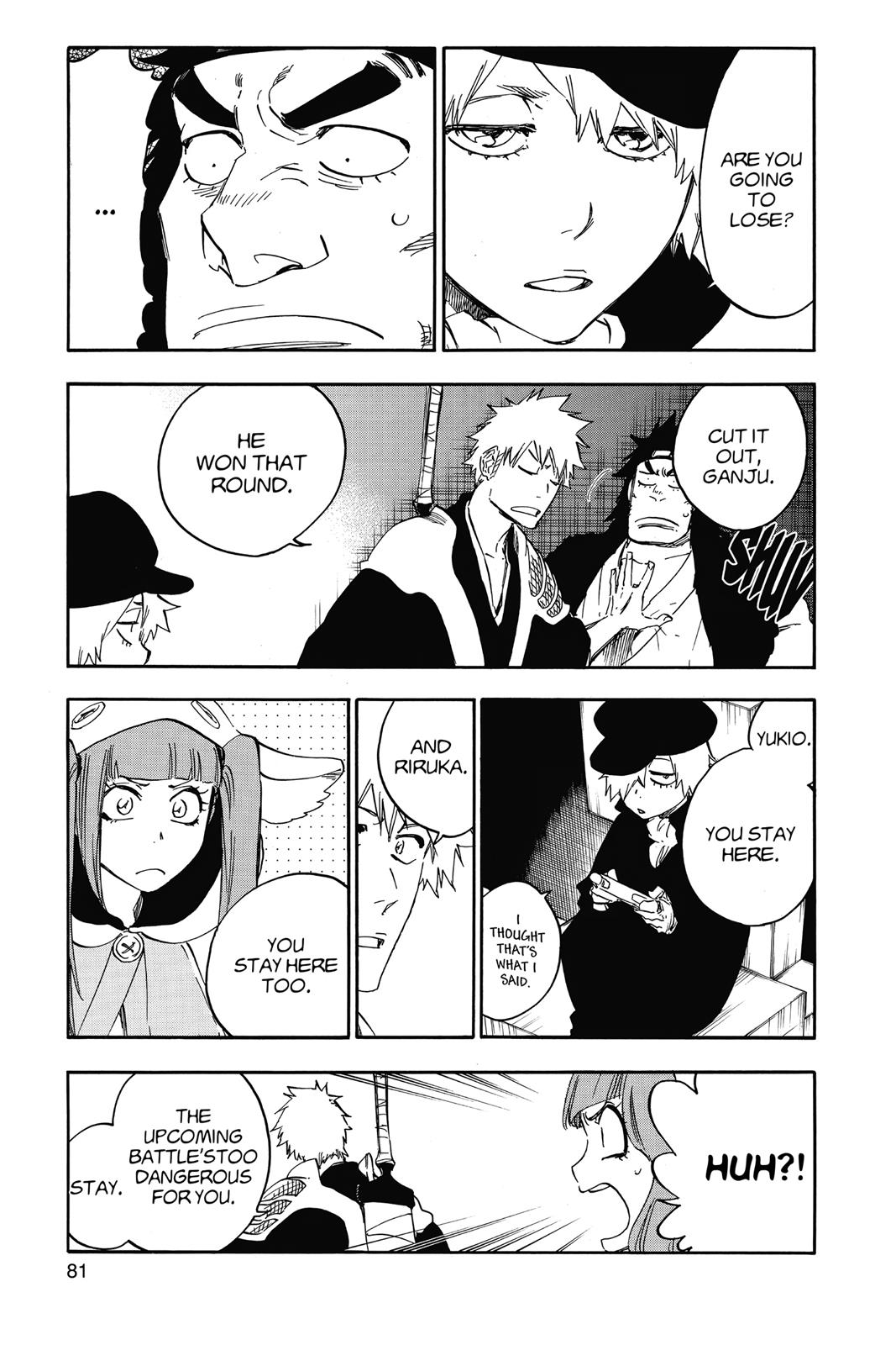 Bleach, Chapter 627 image 003