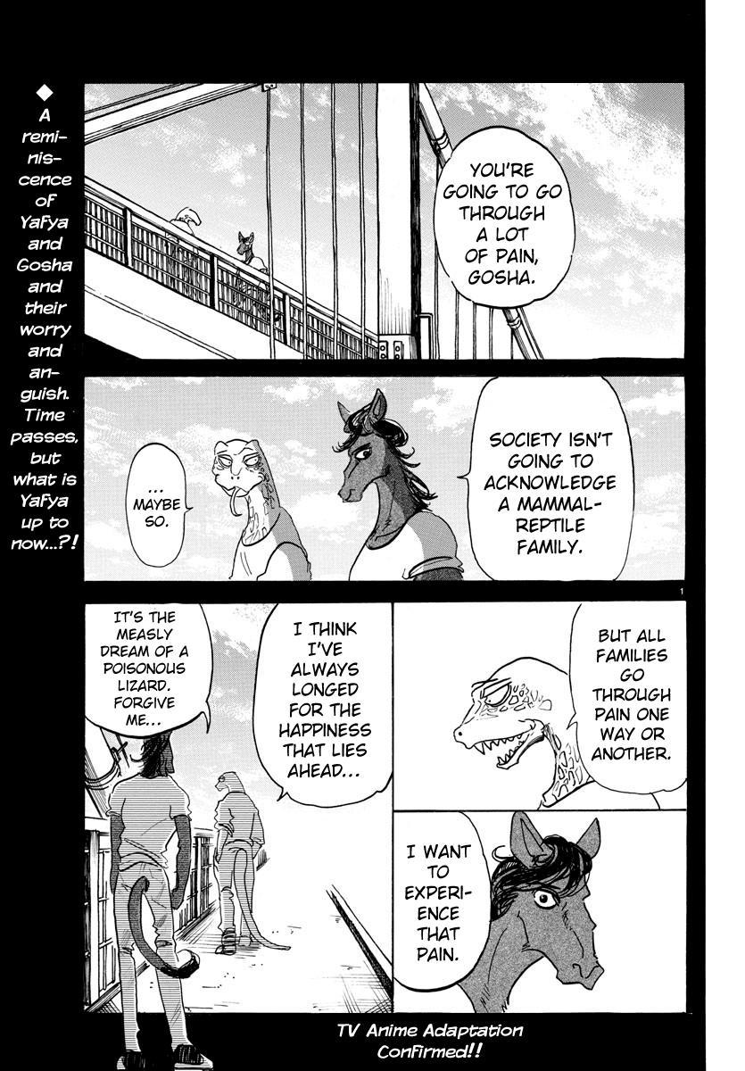 Beastars Manga, Chapter 118 image 001