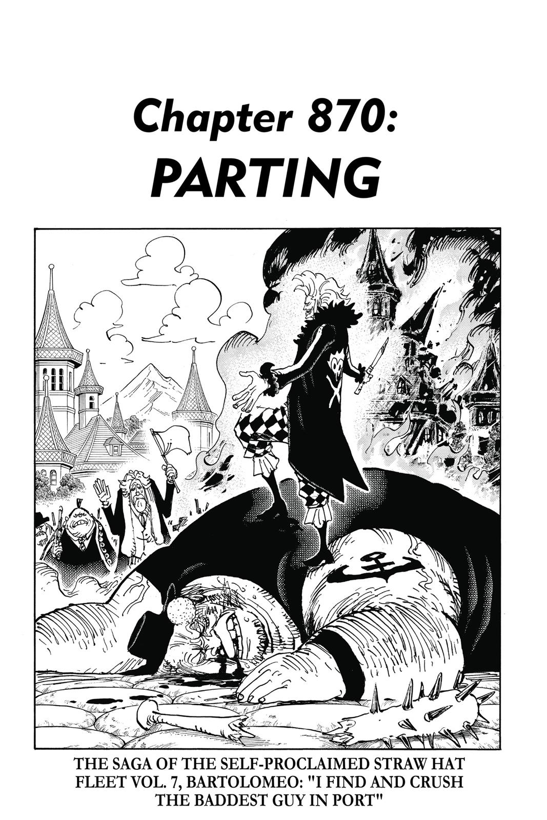 One Piece, Chapter 870 image 007