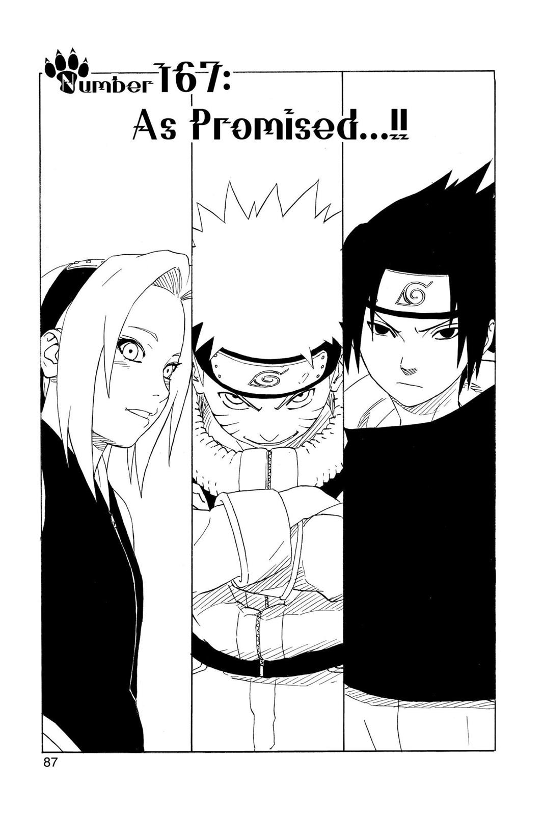 Naruto, Chapter 167 image 001