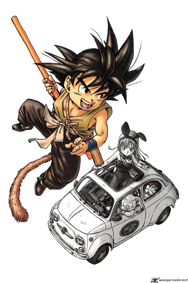 Dragon Ball, Chapter 1 image 002