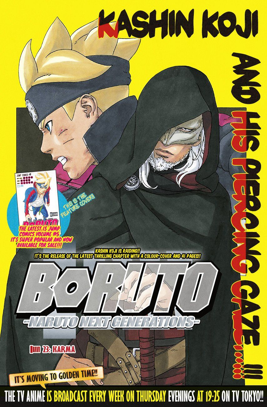 Boruto Manga, Chapter 23 image 001