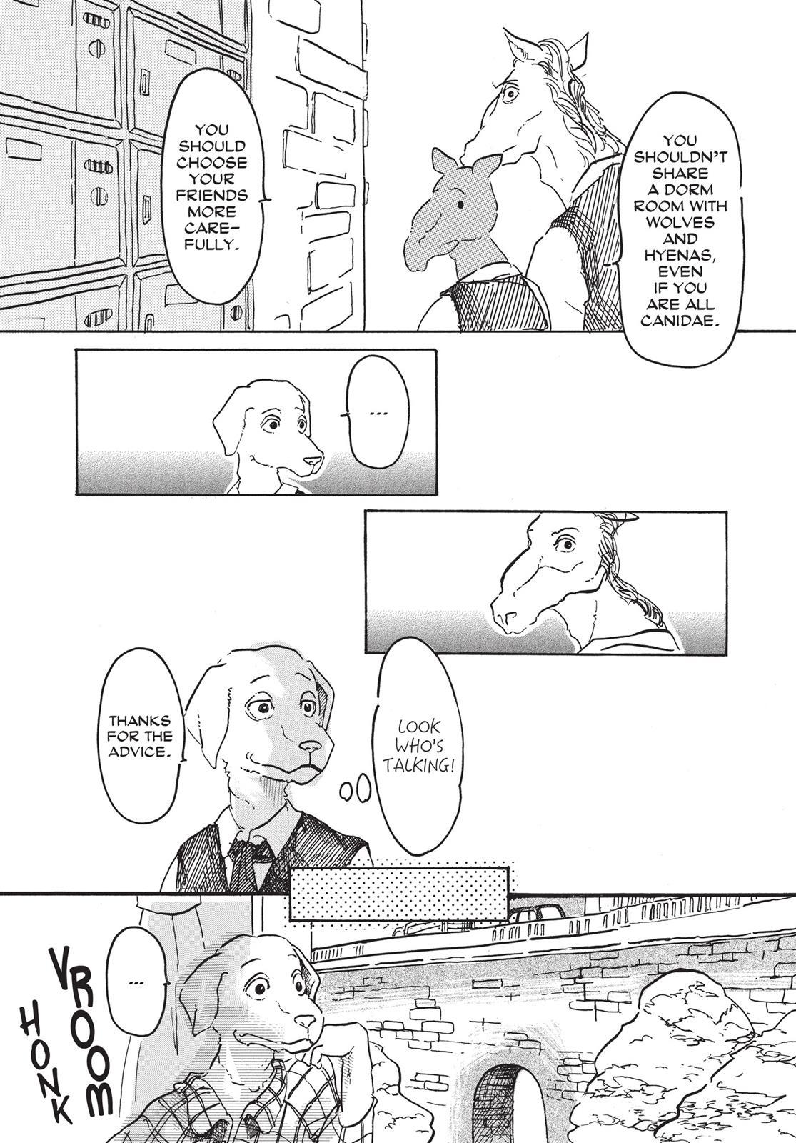 Beastars Manga, Chapter 2 image 007