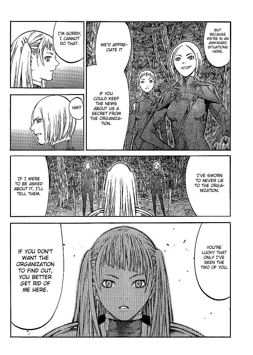 Claymore, Chapter 86 image 004