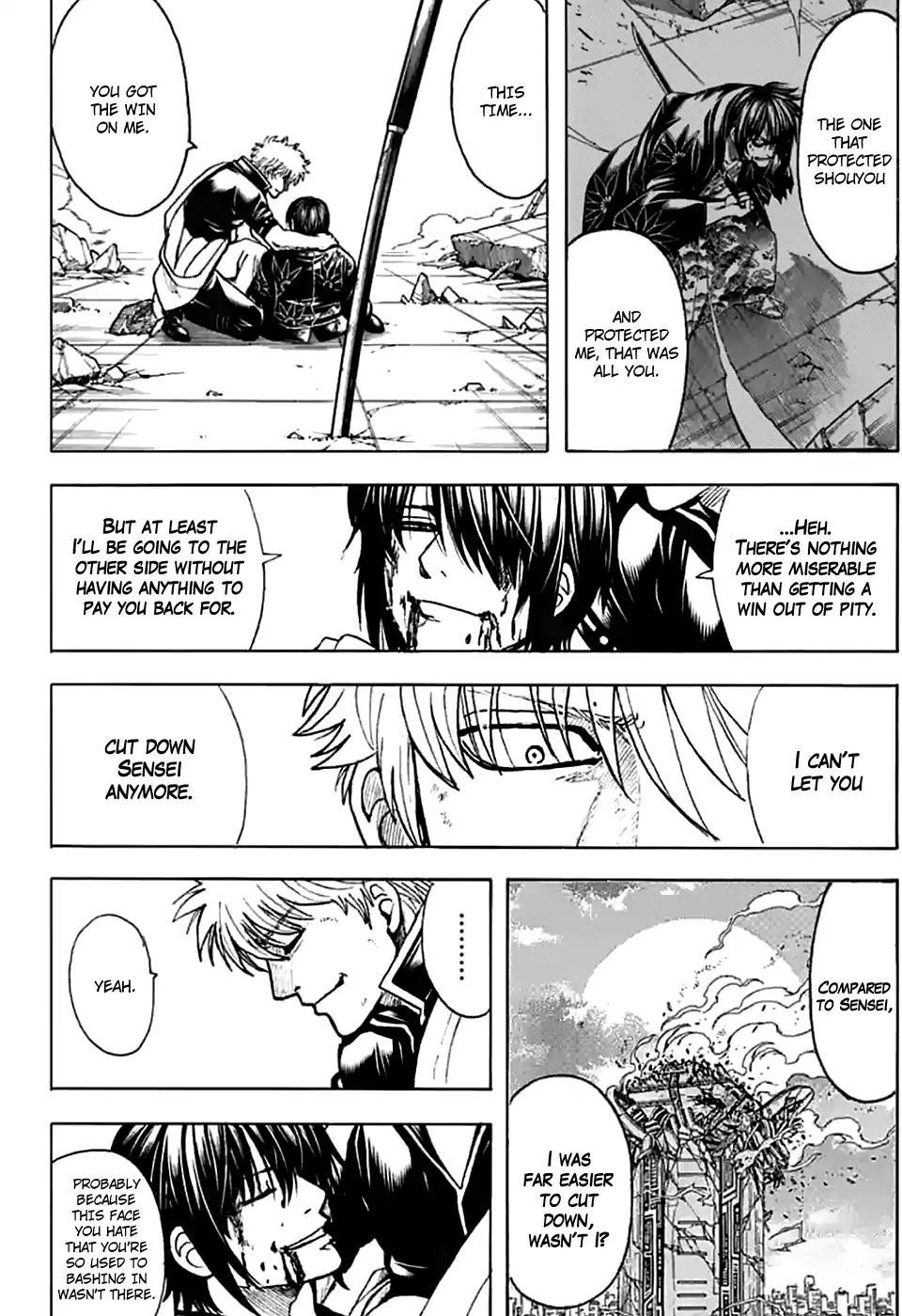 Gintama Chapter, 703 image 036
