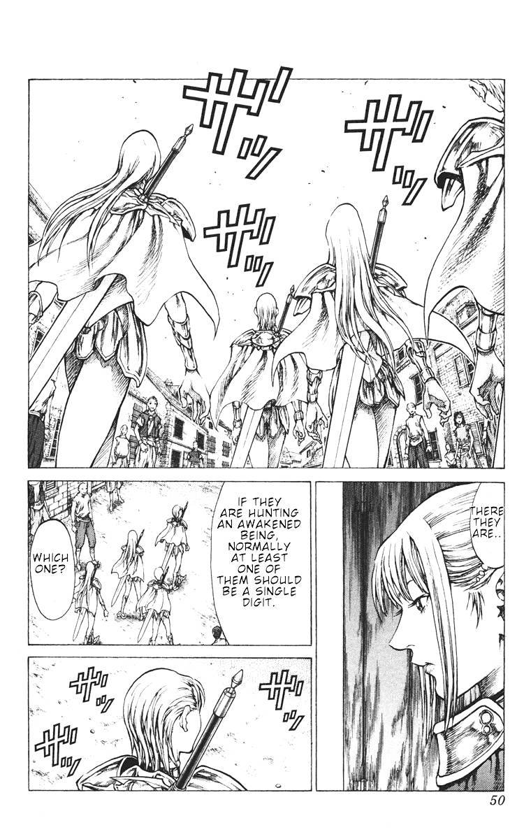 Claymore, Chapter 41 image 013
