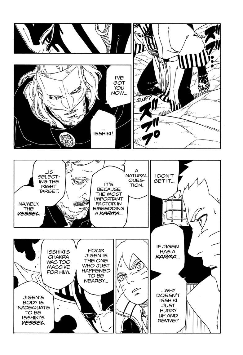 Boruto Manga, Chapter 46 image 034