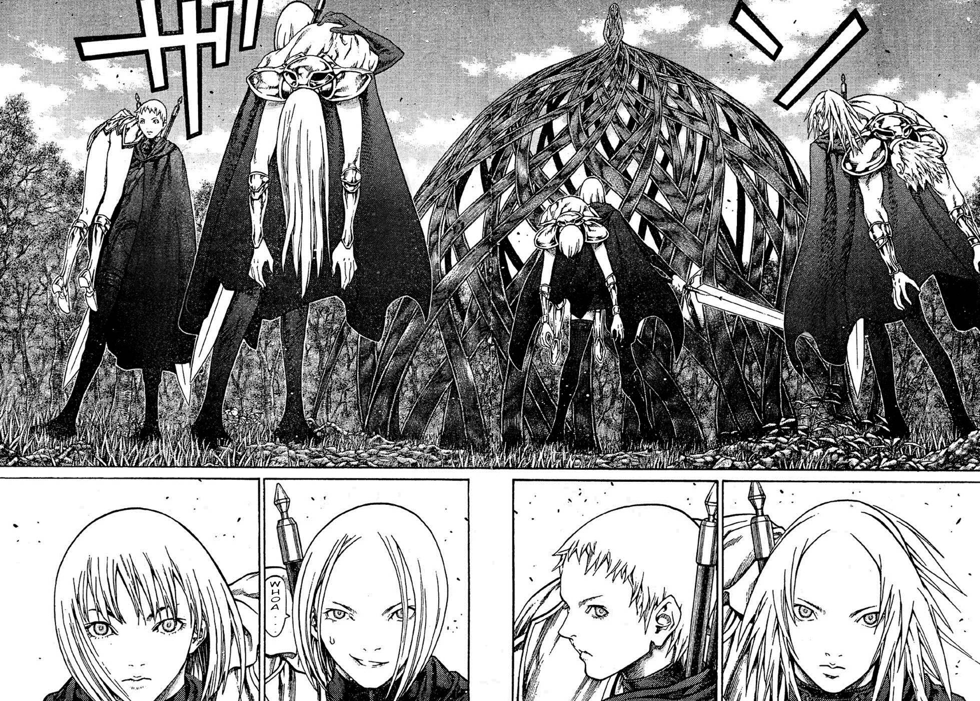 Claymore, Chapter 70 image 027