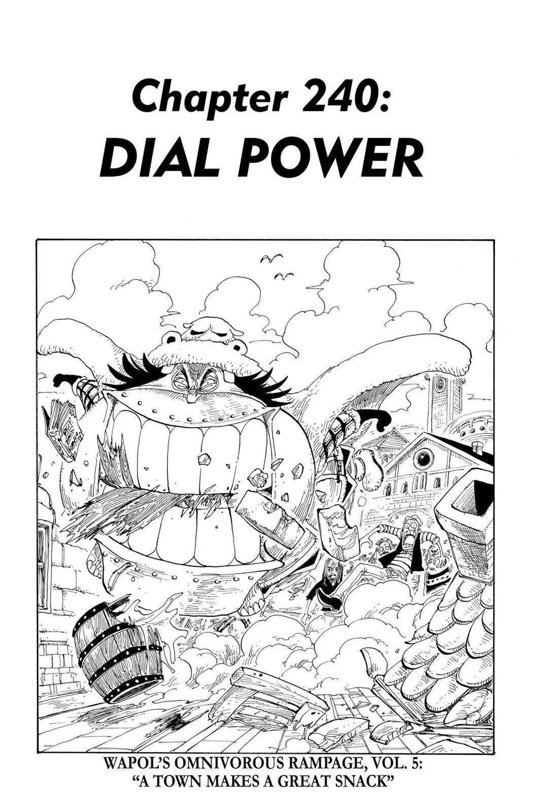 One Piece, Chapter 240 image 001