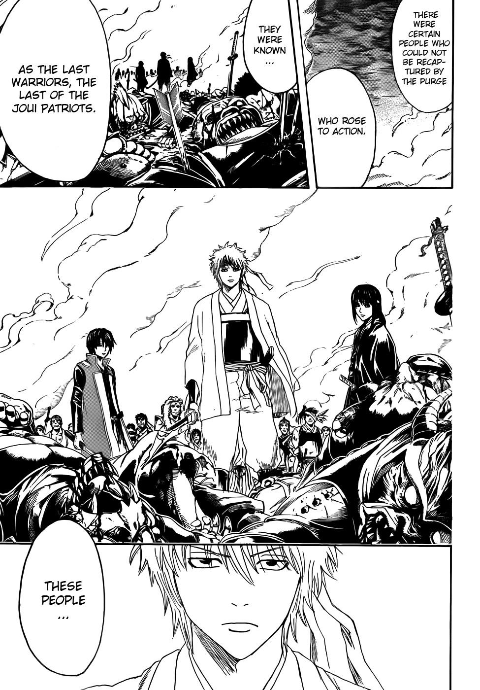 Gintama Chapter, 393 image 005