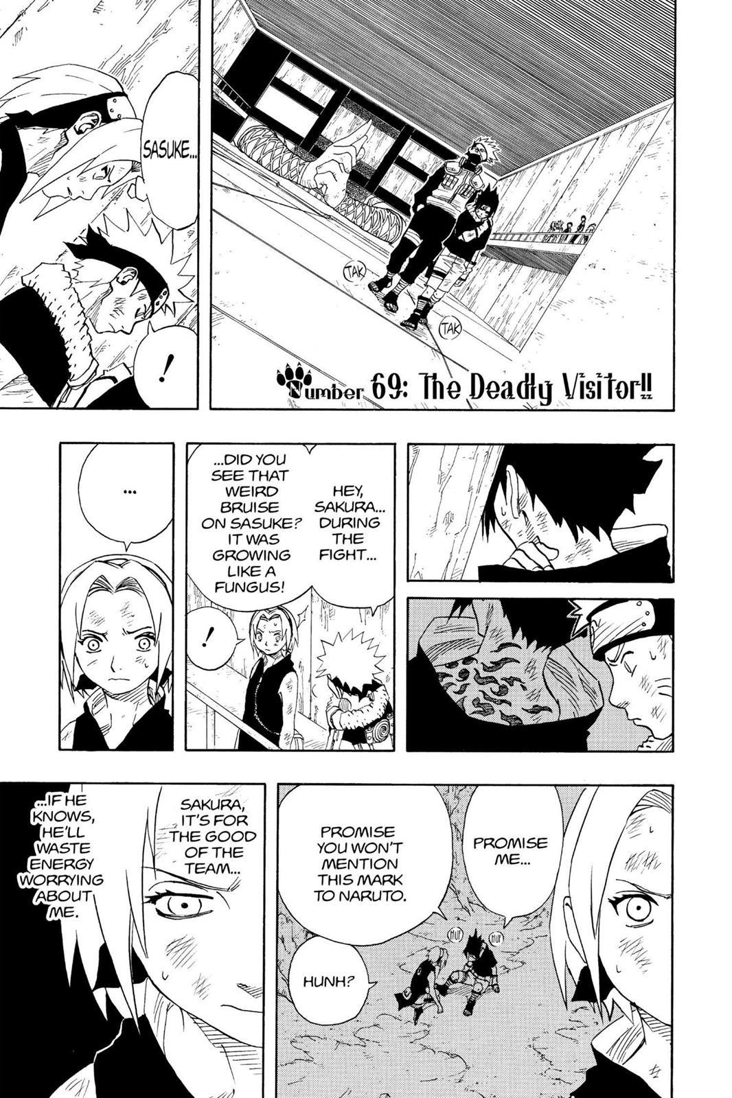 Naruto, Chapter 69 image 001